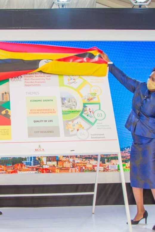 Kampala Capital City Authority Launches a New Strategic Plan