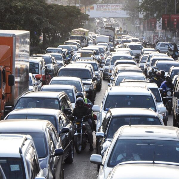 Kampala traffic jam